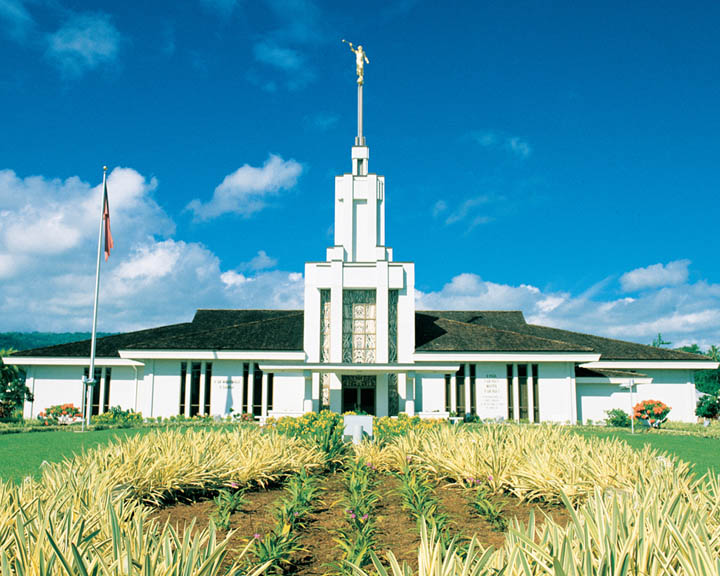 The Mormon Temple in Apia, Samoa