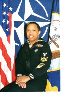 A photo of Keith Brown in his uniform.