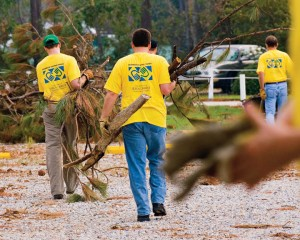 Mormon Disaster Relief Volunteers